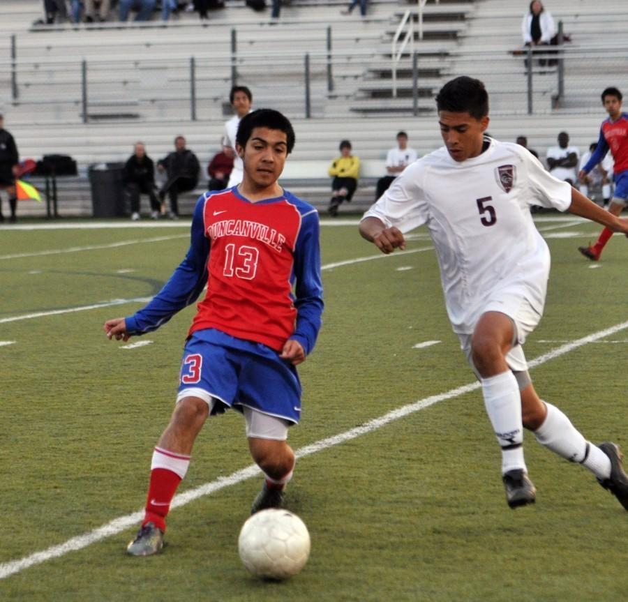 Varsity+Boys+soccer+vs.+Timberview