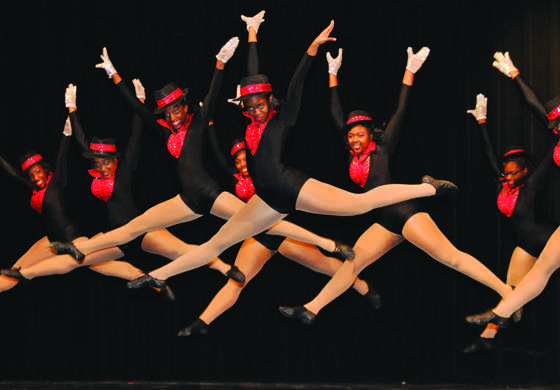 The High Hats will present their annual spring show next week. Photo from past show. (abigail Padgett photo)