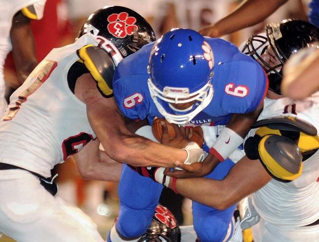 Duncanville+Varsity+Panthers+fooball+vs.+Colleyville+Heritage