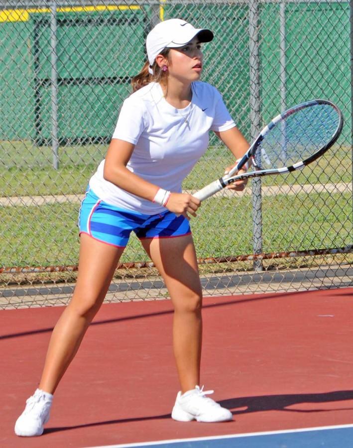 Varisty+Tennis+vs.+Midlothian