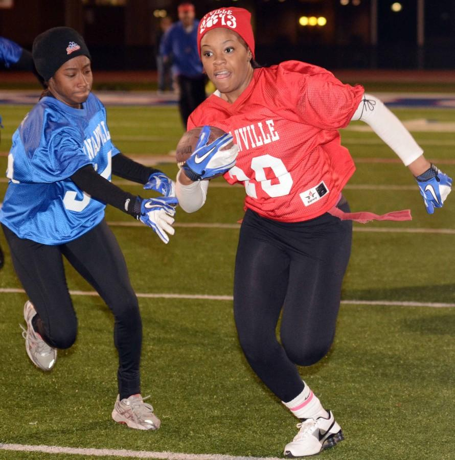 Photos: Powderpuff game