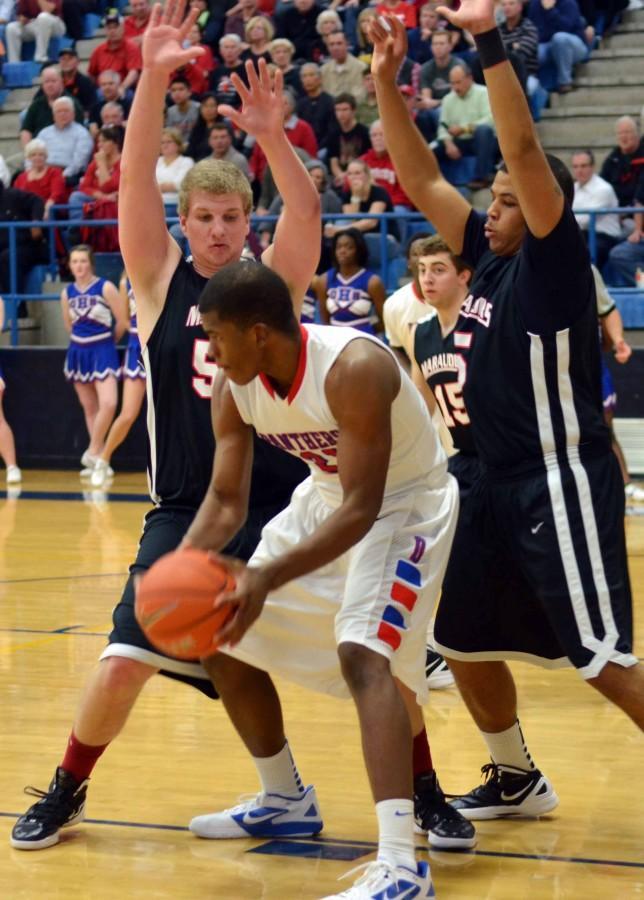 Varsity+Boys+Basketball+Playoff+vs.+Marcus