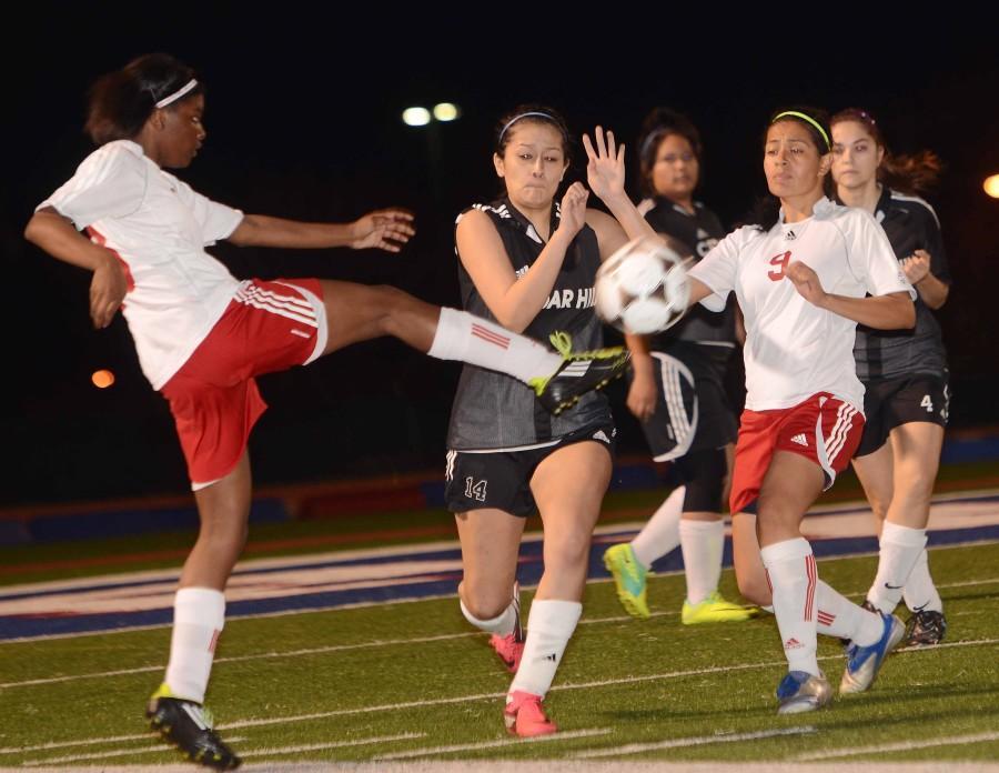 Girls+JV+Soccer+vs.+Cedar+Hill