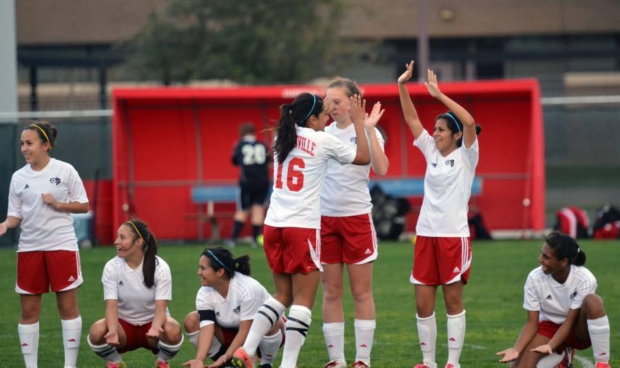 Girls+Varsity+Soccer+vs.+Cedar+Hill