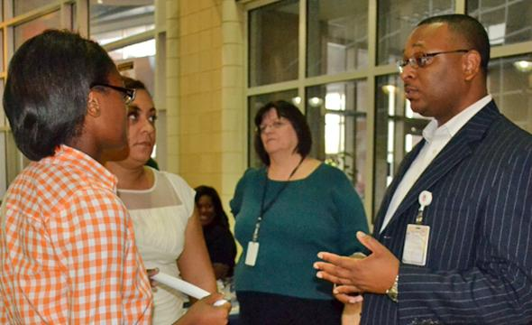 Principal Andre Smith returns home as school's leader