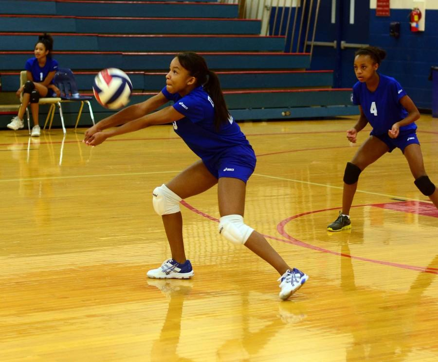 Photos%3A+Freshman+Volleyball+Tournament