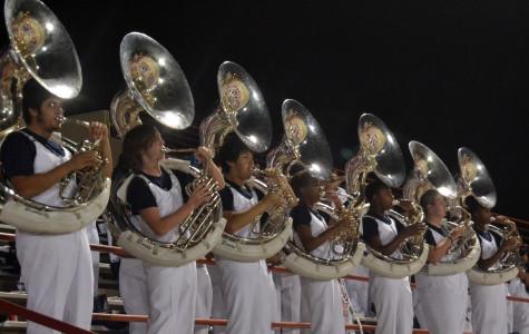 Band at Homecoming 2012