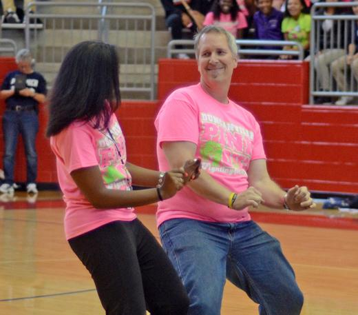 Video: DHS PinkOut PepRally 10-26