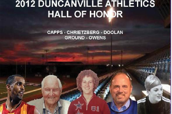 Athletics department holds reception for Hall of Honor inductees