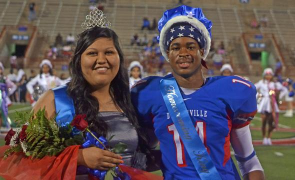 Williams, Mata named 2012 Homecoming King and Queen