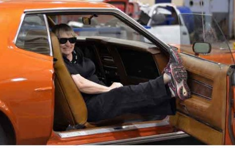 Strickland finds relaxation in restoring antique cars