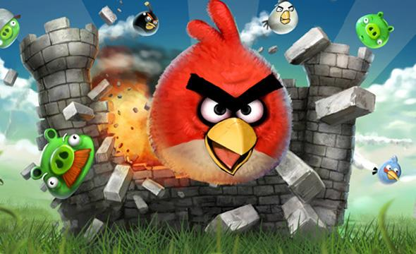 angry birds are coming to the library