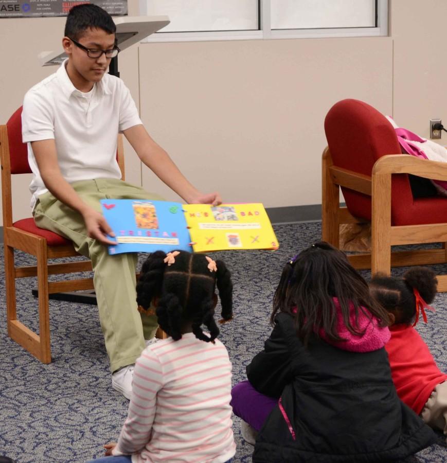 Photos: Mrs. Ellis Freshman Reading Night