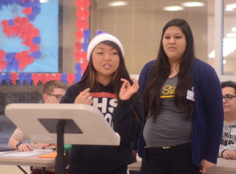 Photos: Student Council Meeting