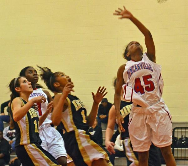 Video: JV Girls Basketball vs. Mansfield