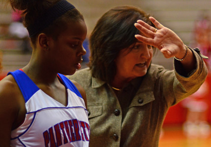 Pantherettes head coach Cathy Self-Morgan selected as Woman Of The Year