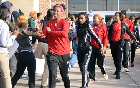 Video: Pantherettes Send Off to State