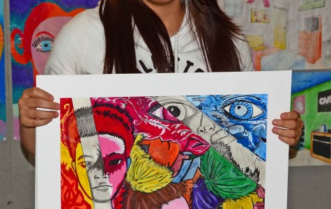 Visual Arts Department comes back from Regional Art Contest with 21 Gold Medals