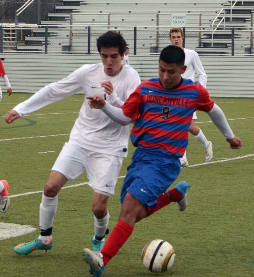 Photos: Boys Varsity Soccer vs Mansfield
