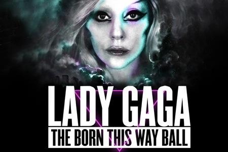 Lady Gaga 'The Born This Way Ball' album