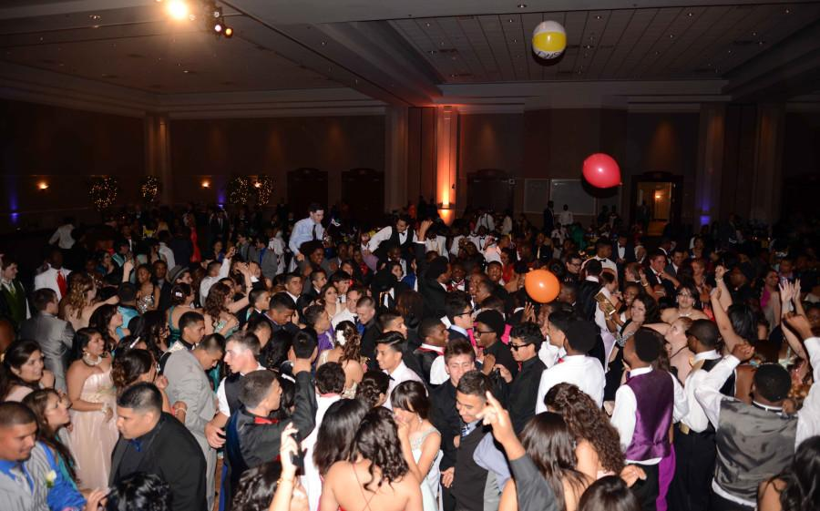 A picture taken at last year's prom. Don't miss out on the excitement! (Ariana Canchola photo)