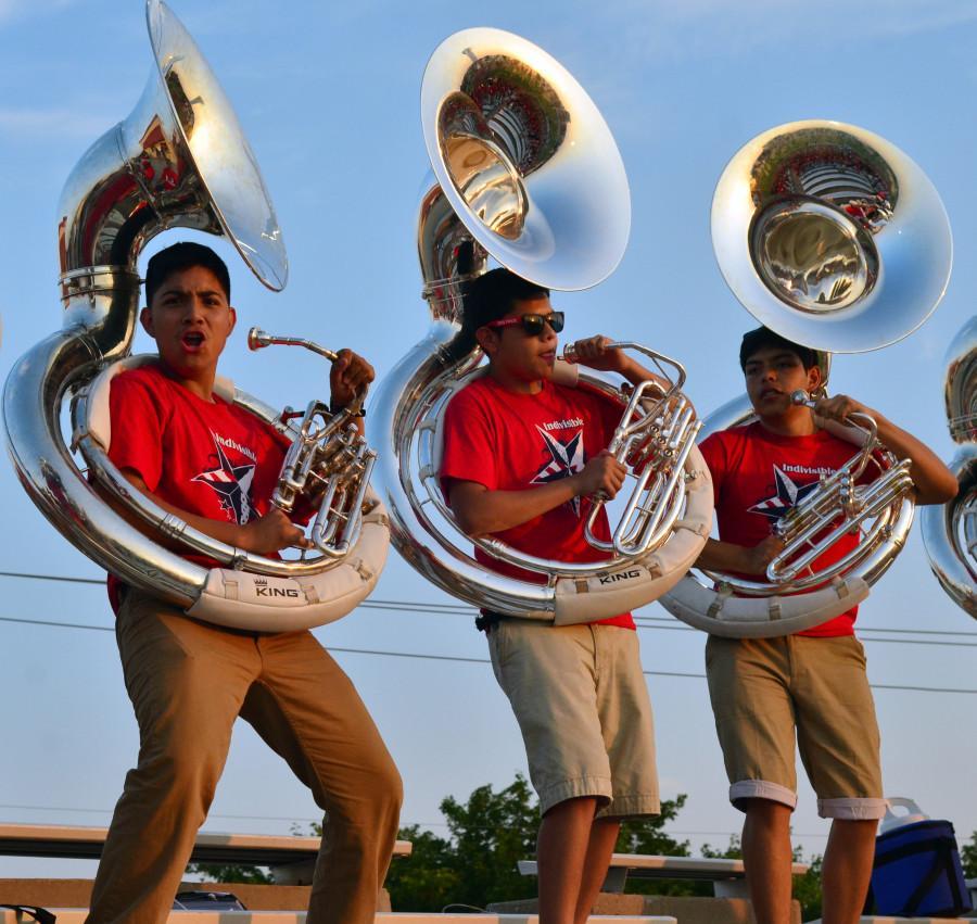 Photos%3A+Band+%40+Varsity+vs.+Colleyville+