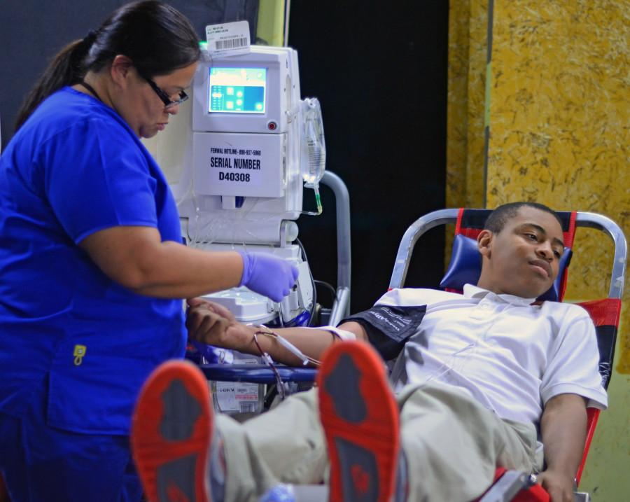 One of the many activities Student Council participates in is blood drives at the school. (file photo)
