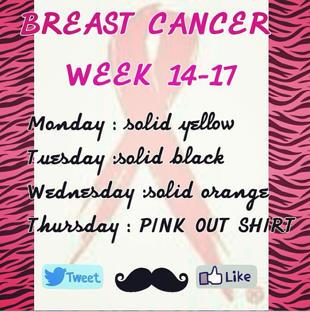 Student+Council+hosts+theme+week+in+honor+of+Breast+Cancer+Awareness