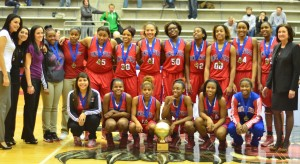 Last year the Duncanville Pantherettes won the Sandra Meadows Classic.  They are looking for a repeat and to continue their winning streak of over 80 games. (Abigail Padgett photo)