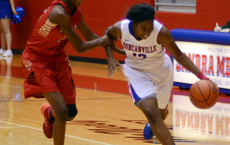 Video: Pantherettes win first district game 58-28 against SGP