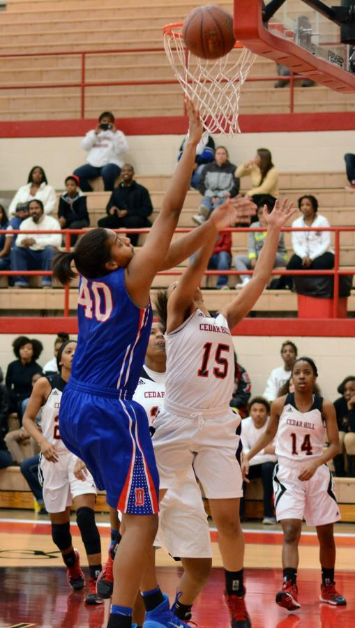 Photos: Varsity Girls Basketball vs. Cedar Hill