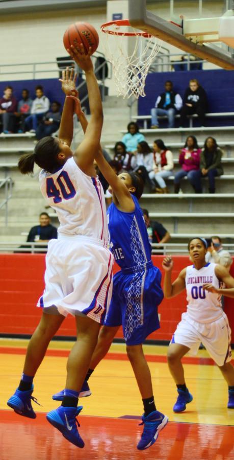 Photos: Girls Varsity Basketbal vs. Grand Prairie 01-28
