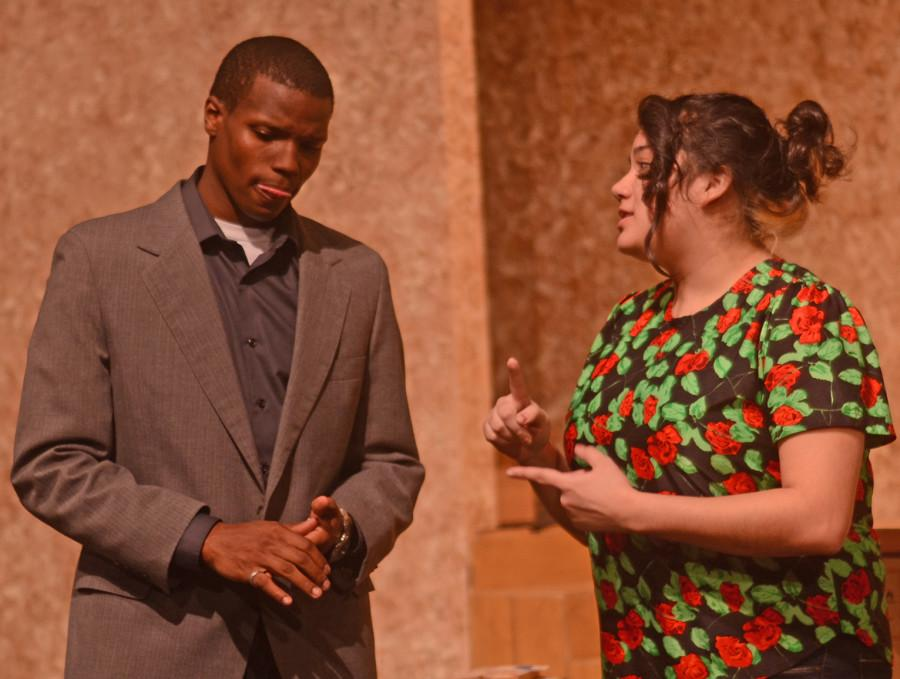 Video: Drama students perform play 'Don't Go Gentle'
