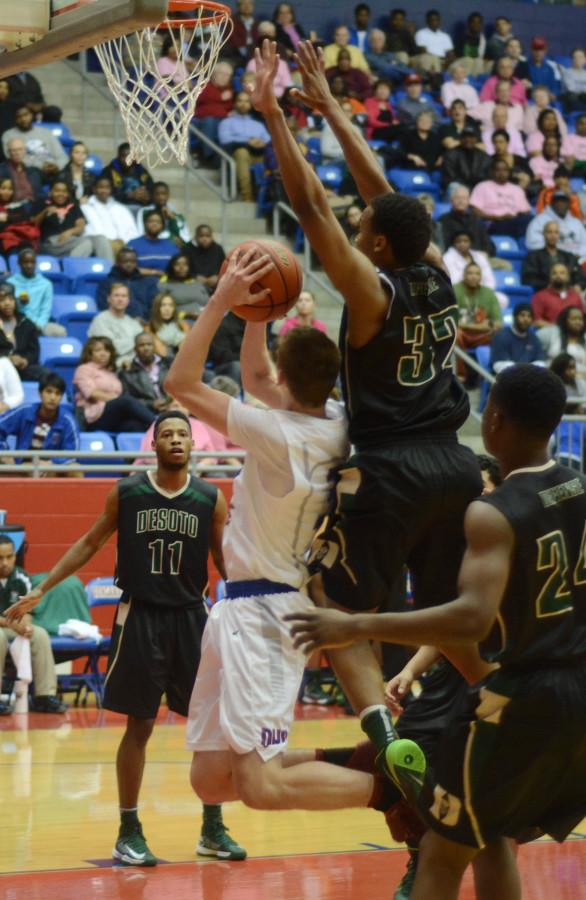 Photos: Varsity Basketball Boys vs. DeSoto 2-4