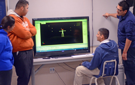 Advance animation students learn Motion Capture technique in latest project