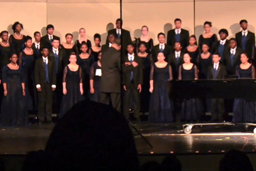Video: Varsity Mixed choir competes in UIL