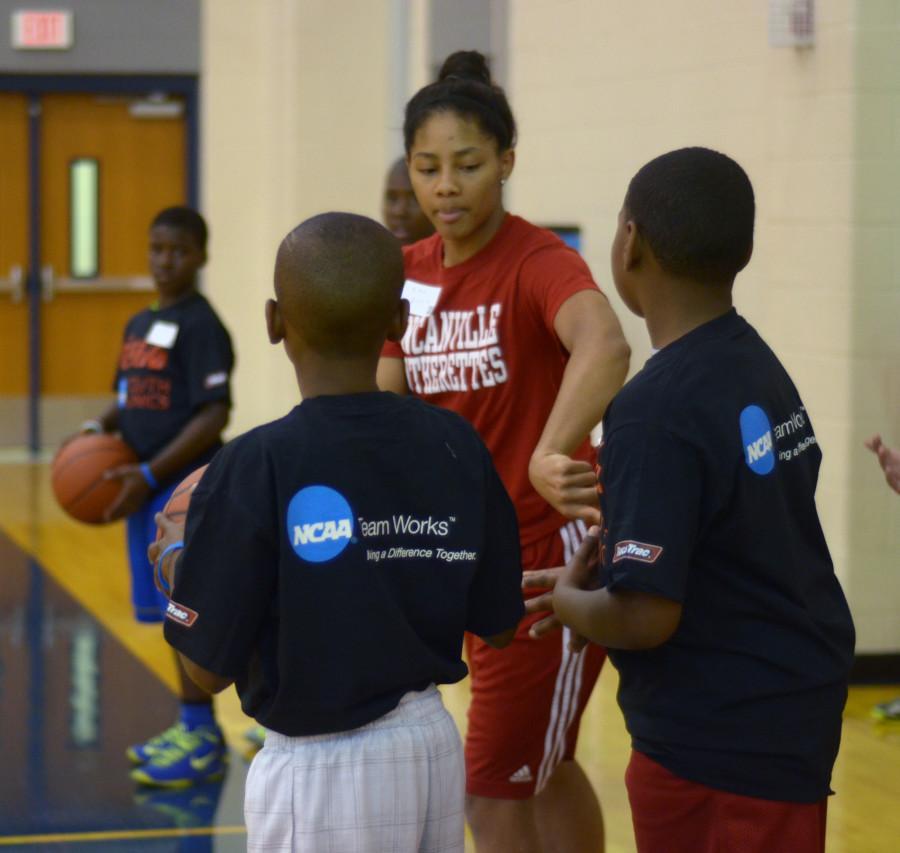 Photos: NCAA Youth Clinic