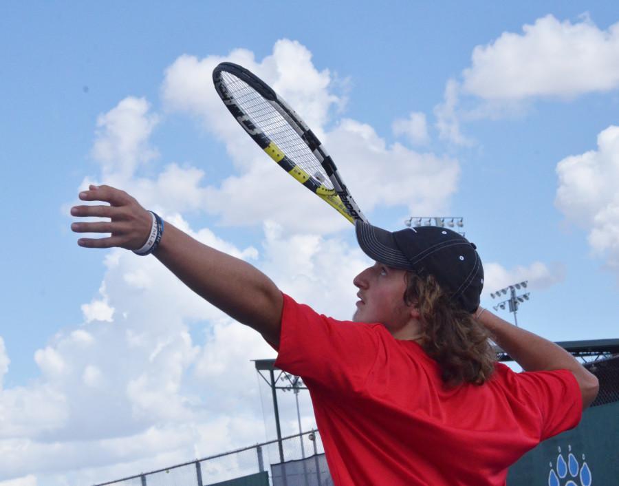Photos: Varsity Tennis vs. Mansfield