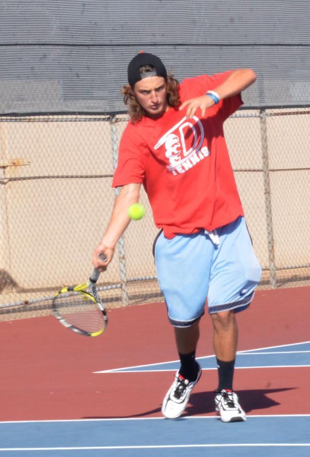 Photos: Varsity Tennis vs. Cedar Hill