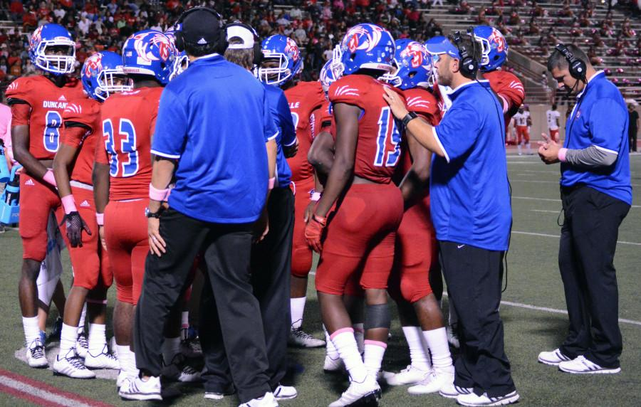 Photos: Varsity Football Vs. Cedar Hill 10-10
