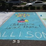 Painted senior spots offer great opportunity for class fundraiser.