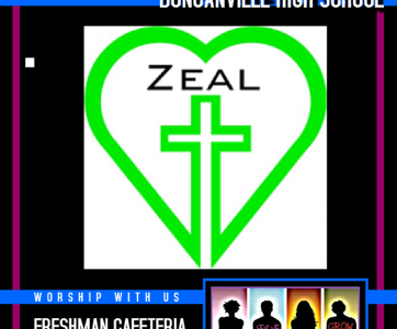 Zeal helps students connect with God, each other
