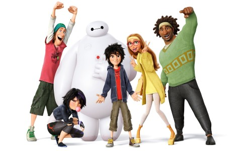 The characters from Big Hero 6.