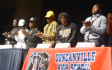 Players sign letters of intent to play college football