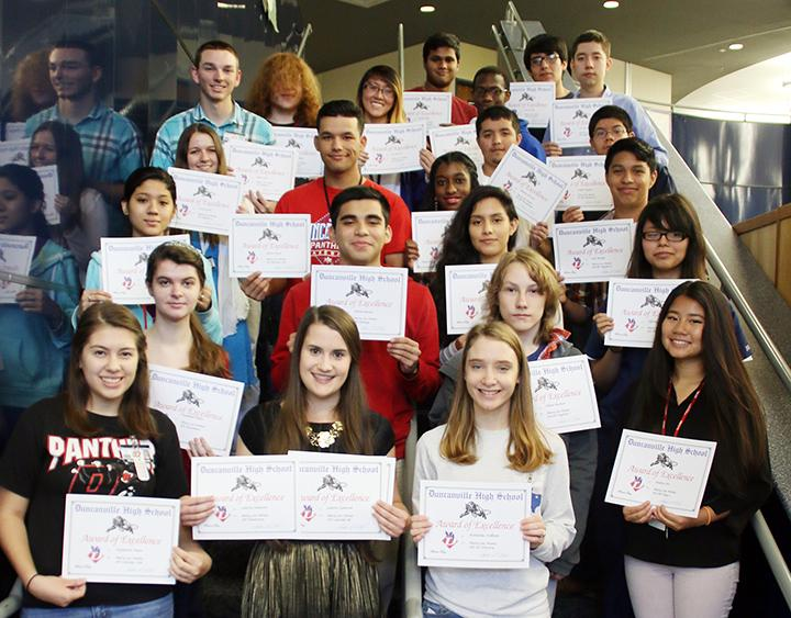 Students honored with Mary Lee Nemic Awards