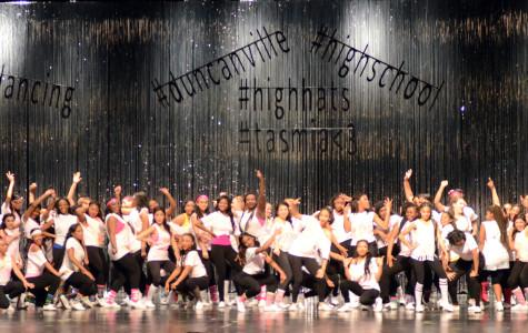The High Hats perform at last year's spring show. (Photo by Mireya Ibarra)