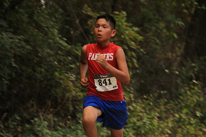 Cross Country team competes at Fossil Rim