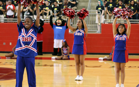 Student body hosts Pep Rally for Mesquite Horn game