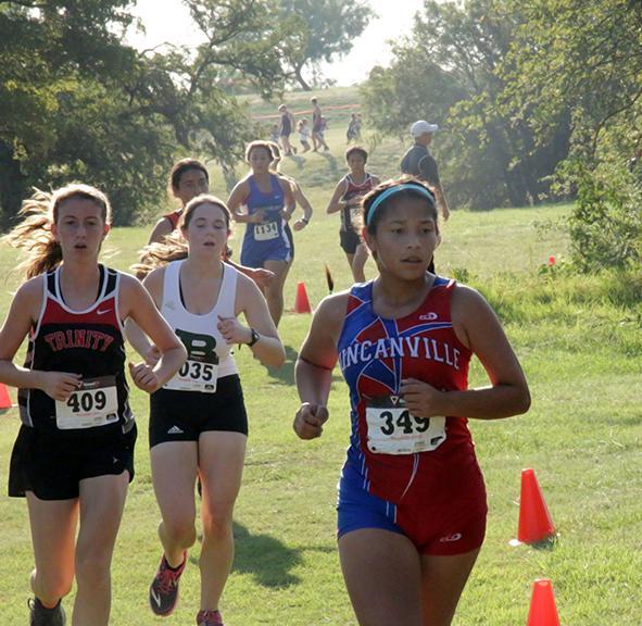Cross Country runs at Haltom City meet