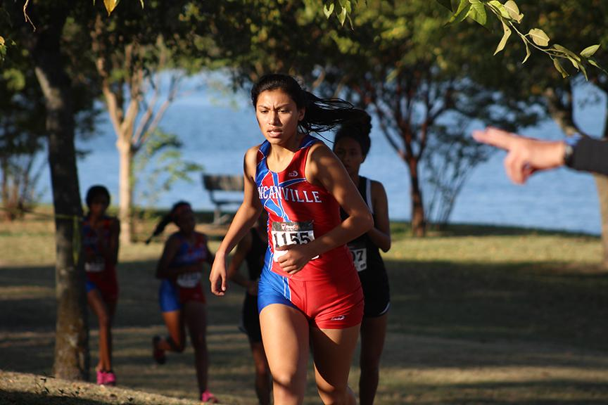 Cross Country competed against other teams at District